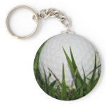 Golf Ball Design Keychain