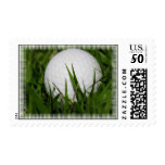 Golf Ball Design on Stamps