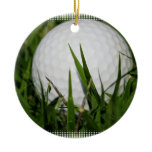 Golf Ball Design Ornament