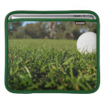 Golf Ball on Course iPad Sleeve