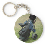 Golf Cart Bag Keychain
