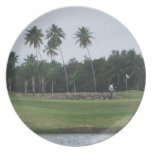 Golf Country Club Plate