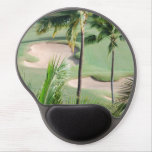 Golf Course in Tropics Gel Mouse Pad