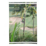 Golf Course in Tropics Towel