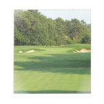 Golf Course Notepad