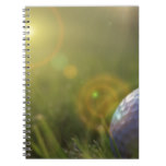 Golf on a Sunny Day Notebook