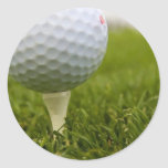 Golf Tee Design Sticker