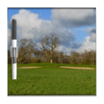 Let's Play Golf Dry Erase Board
