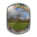 Let's Play Golf Glass Candy Jar