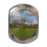 Let's Play Golf Glass Candy Jars