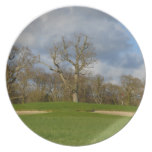 Let's Play Golf Melamine Plate