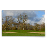 Let's Play Golf Rectangular Sticker
