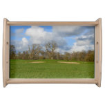 Let's Play Golf Serving Tray