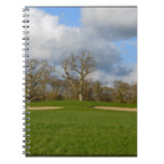 Let's Play Golf Spiral Notebook